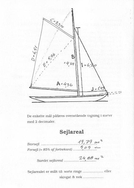 Her er Sprays målebrev. Hun er målt efter det gamle NNL, som benyttes til klassiske både Danmark og varetages af DFÆL. Klik på det og læs.